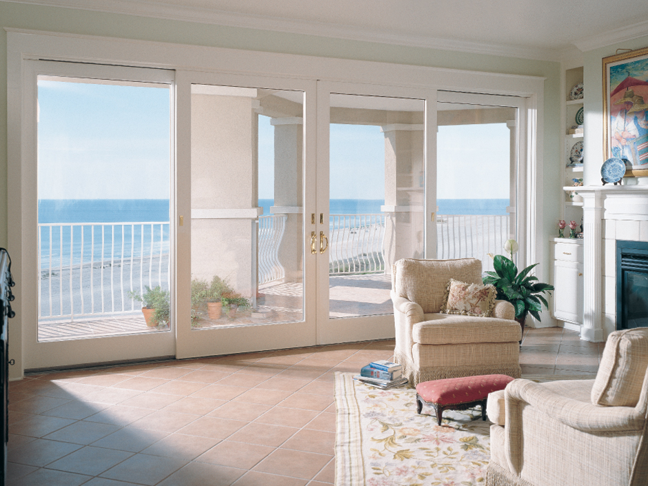 on traditional french patio doors
