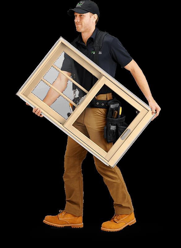 professional window installation image